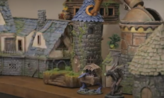 Someone made a model of the Stardew Valley wizard's tower from garbage and it looks amazing