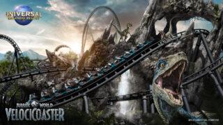 Universal Studios Reveals Jurassic World VelociCoaster Roller Coaster