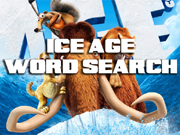 Ice Age Word Search