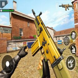 FPS Shooting Strike : Modern Combat War 2k20