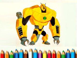 Ben10 Monsters Coloring