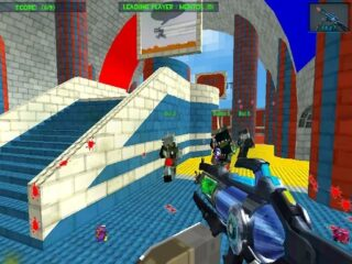 Blocky Gun Paintball 3
