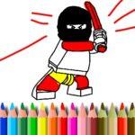 BTS Lego Coloring Book