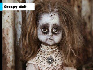 Creepy Doll Jigsaw