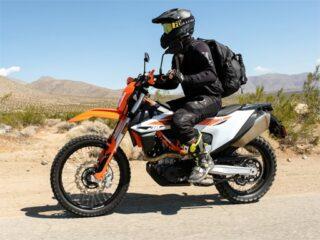 Dirt Motorbike Slide