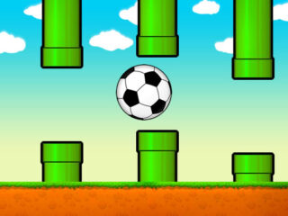 Flappy Soccer Ball