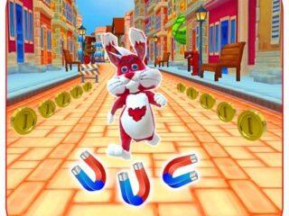 Subway Bunny Run Rush Rabbit Runner Game