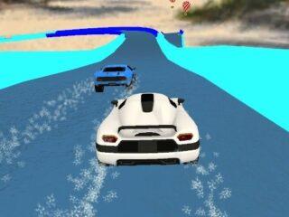 Water Slide Cars