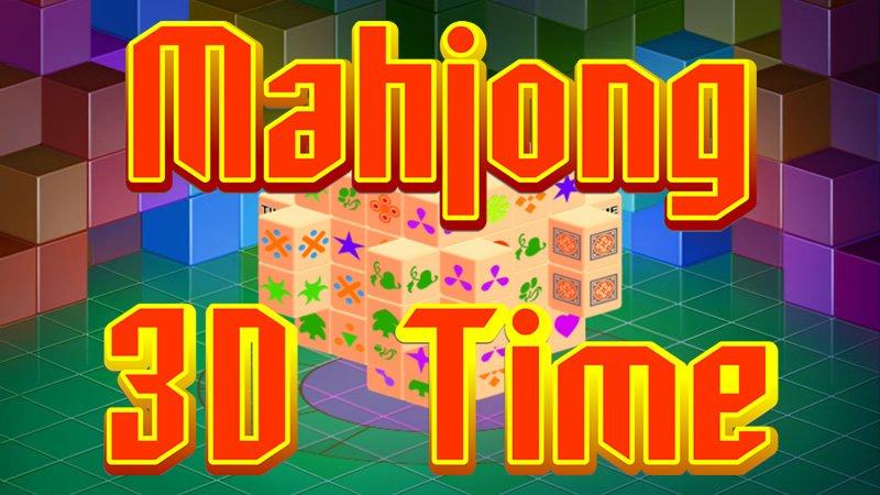 Image Mahjong 3D Time